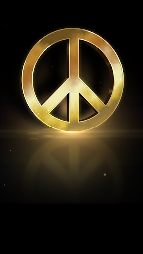 Peace Sign Live Wallpaper App for Android 288x512