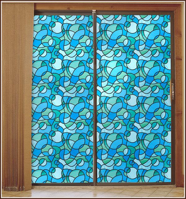 Glass Film Odyssey Decorates Windows Glass Doors Wallpaper For 600x643