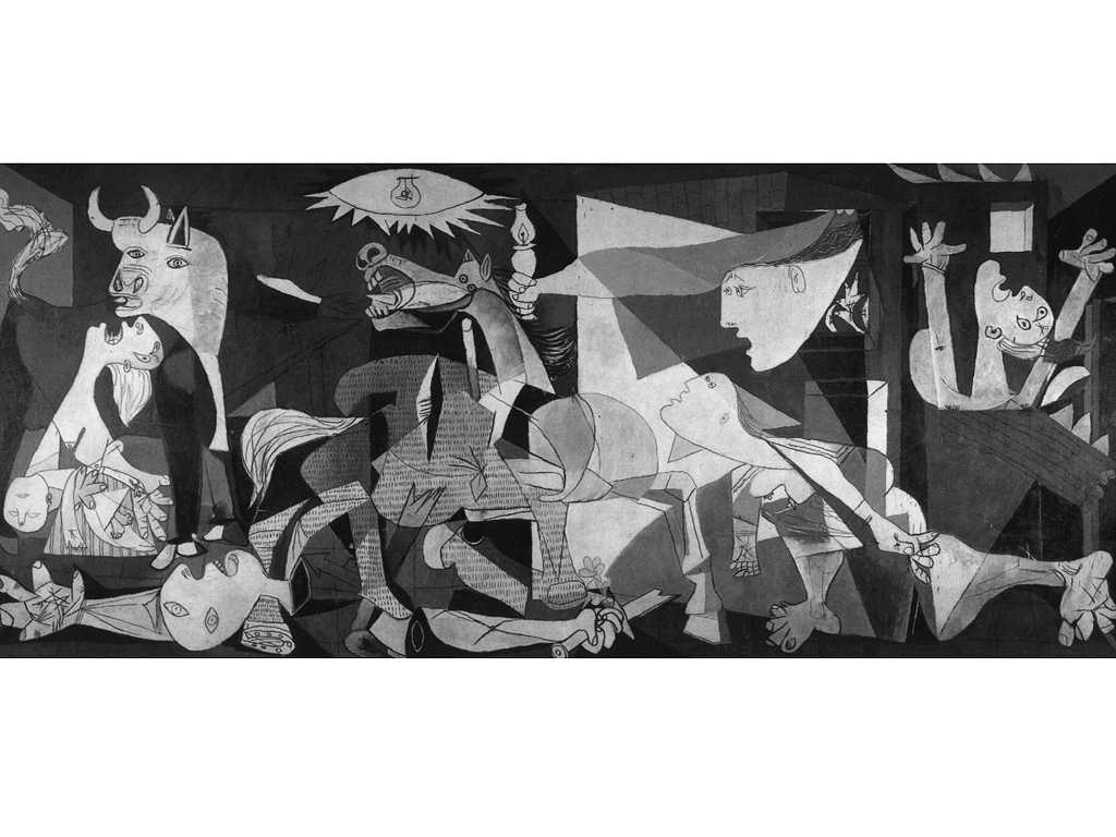 Images For Picasso Guernica Wallpaper 1024x768