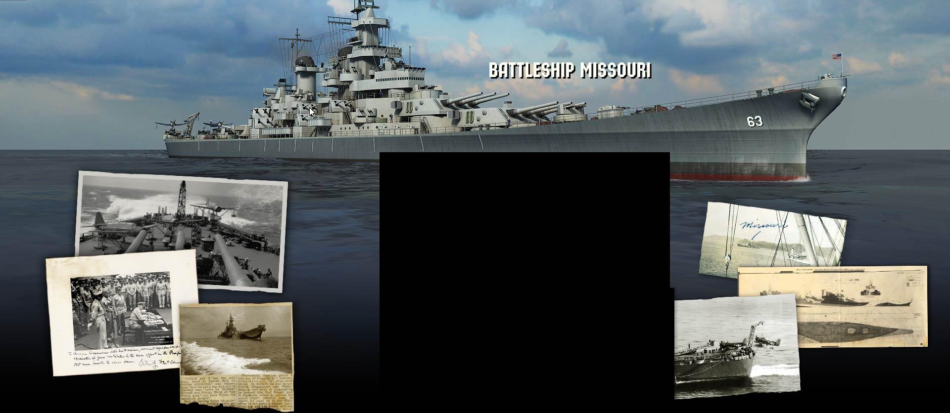 Adventure Battleship Missouri 3d Screensaver and Premium 3D Wallpaper 1920x836