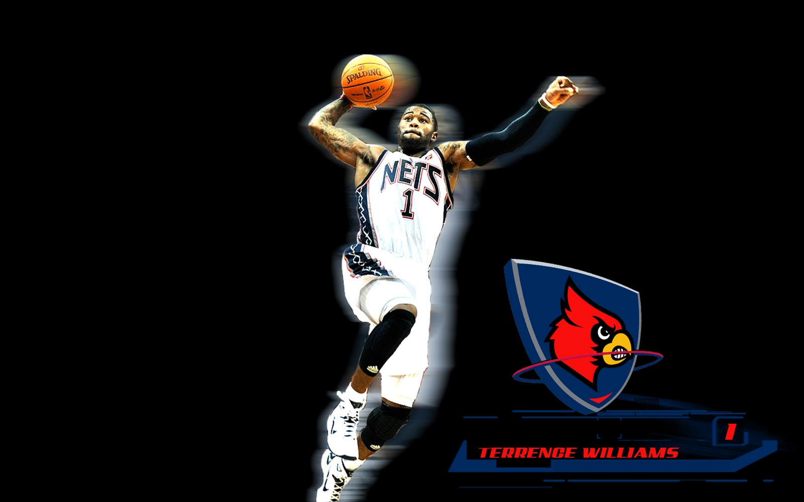 Terrence Williams NBA basketball wallpapers NBA Wallpapers 1600x1000