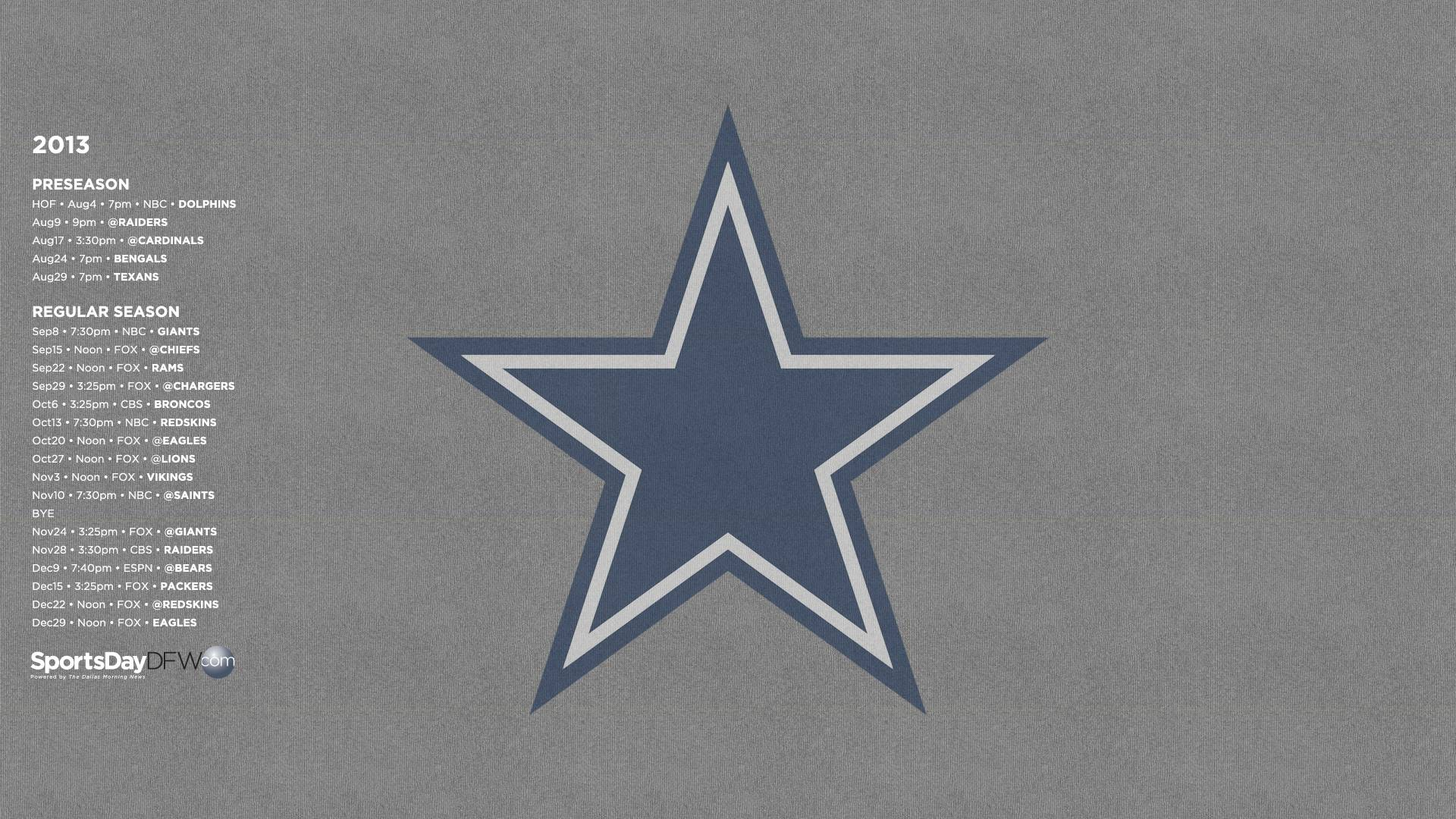 dallas cowboys schedule wallpapers for your iphone ipad and desktop 1920x1080