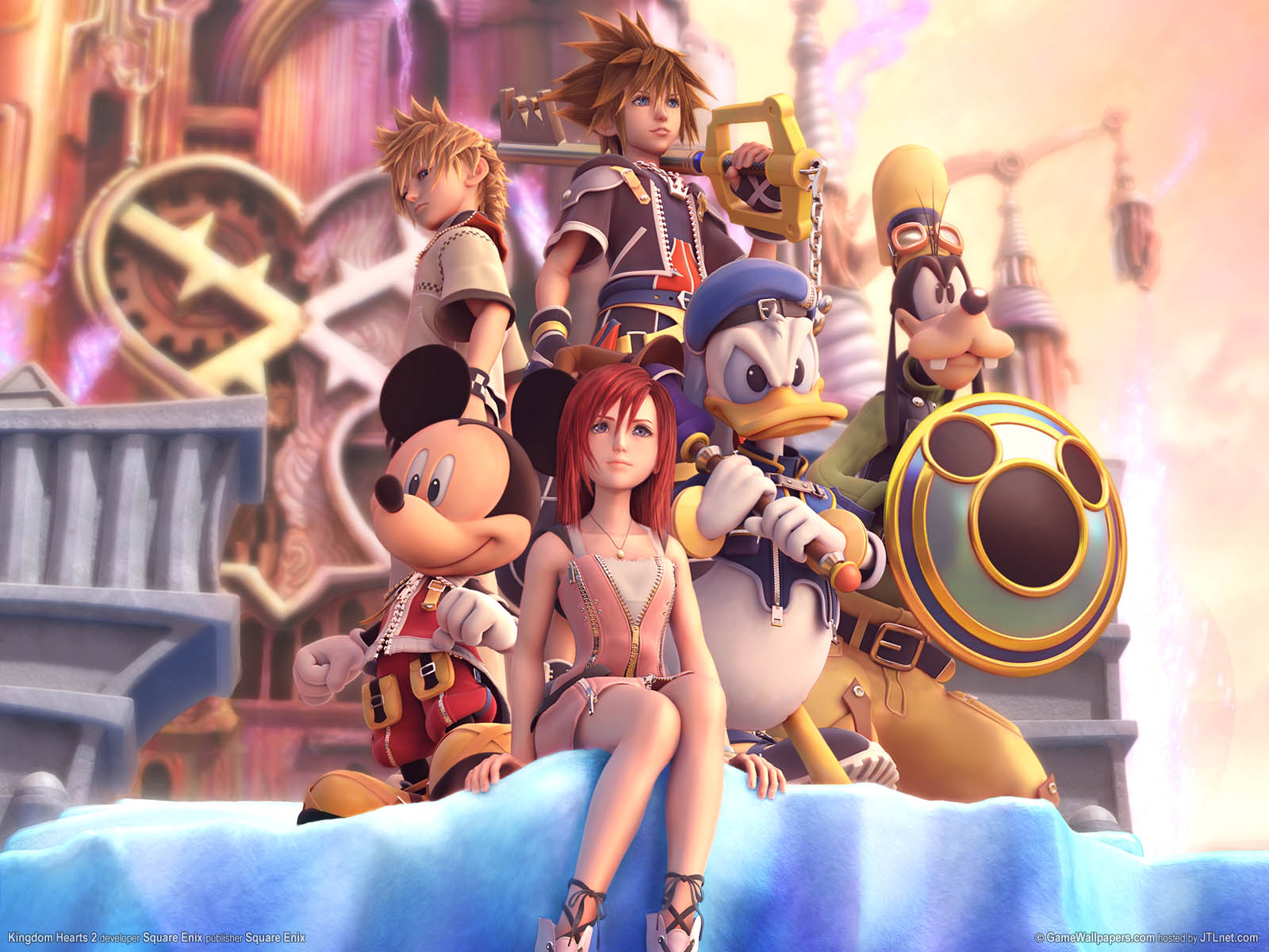 Kingdom Hearts 2   Review PS2 1600x1200