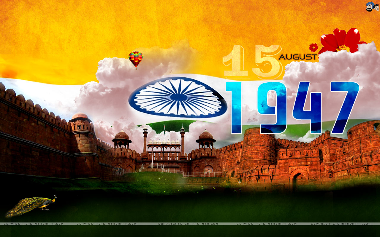 Download More Exclusive Happy Independence Day Wallpapers 1280x800
