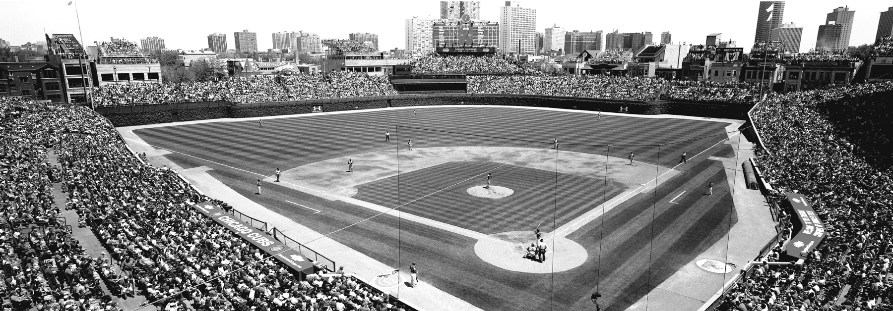 Free Download Chicago Cubs Wallpaper Black White Wrigley Field