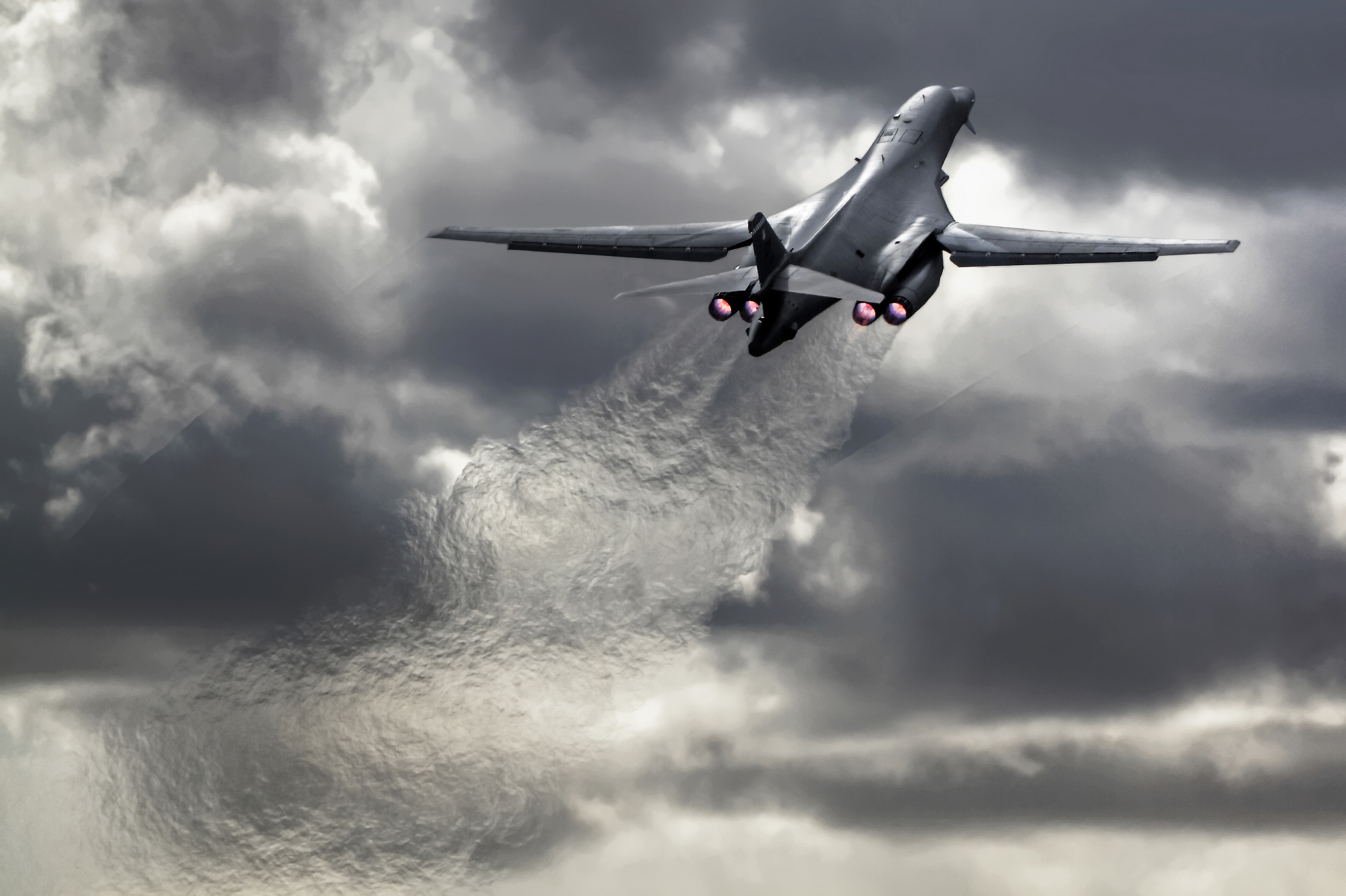Aviationist US Air Force to triple airspace for B 1 B 52 bomber 2048x1365