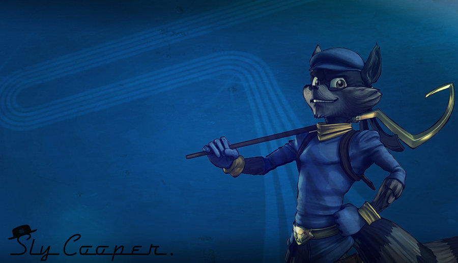 sly cooper wallpaper by nolan989890 fan art wallpaper games 2012 900x517