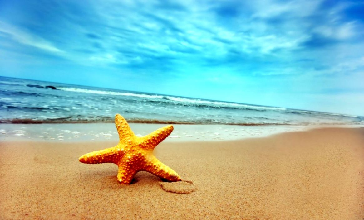 Beach Desktop Background Star Full Wallpapers Hd Wallpapers Colorful 1166x706