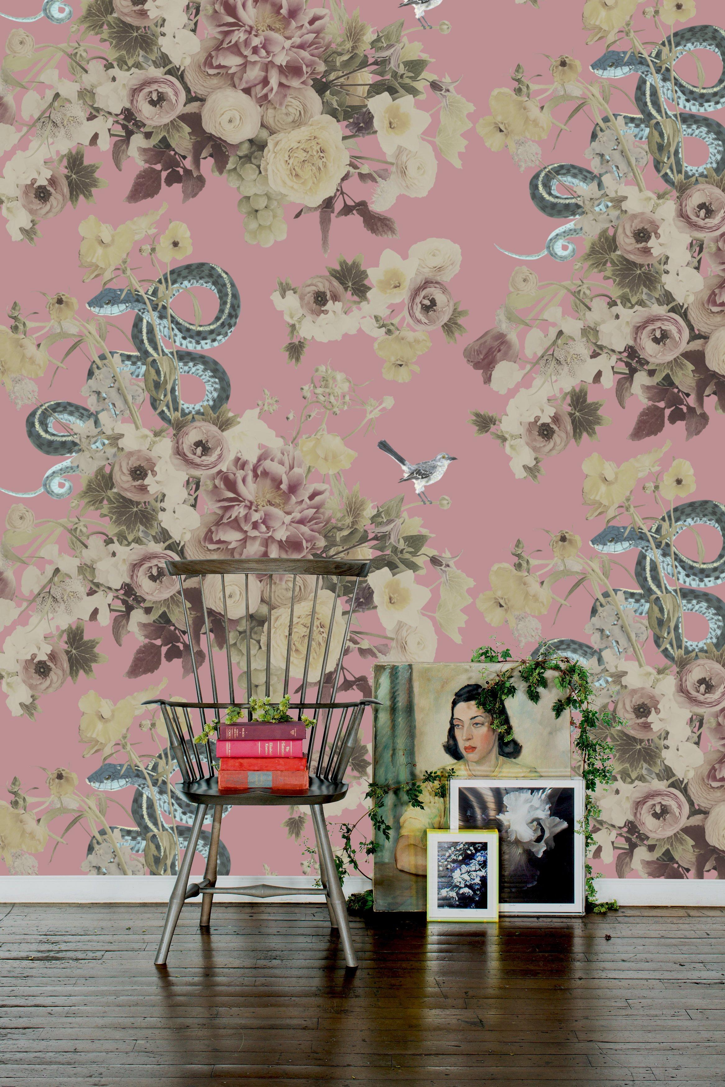 Fay Pink Wallpaper Ashley Woodson Bailey 2333x3500