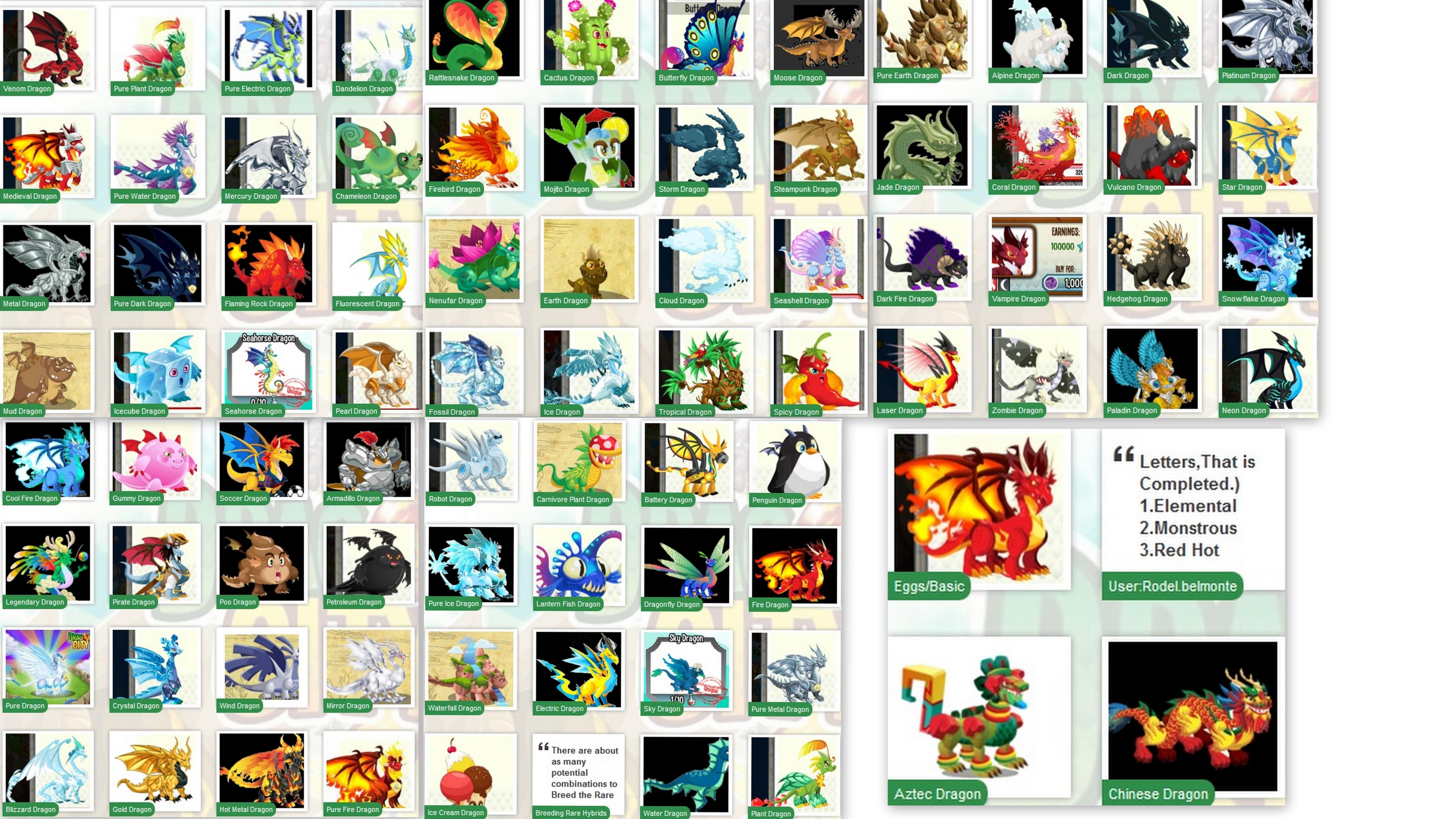 Dragon City Breeding Guide Wallpaper Wallpapersafari