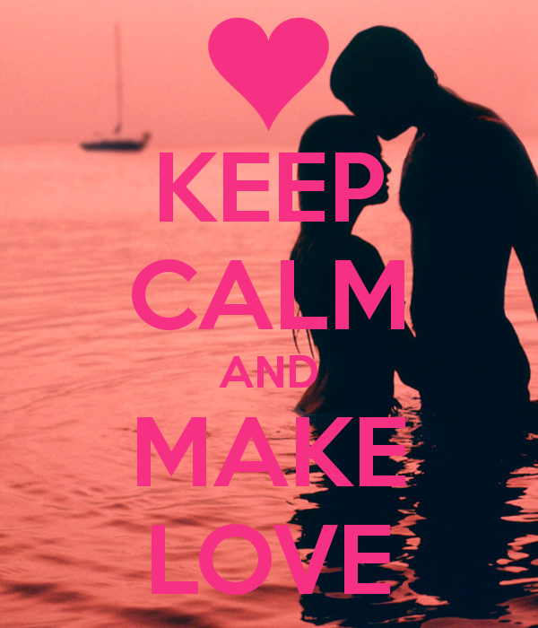 Keep Calm and Make a Poster 600x700