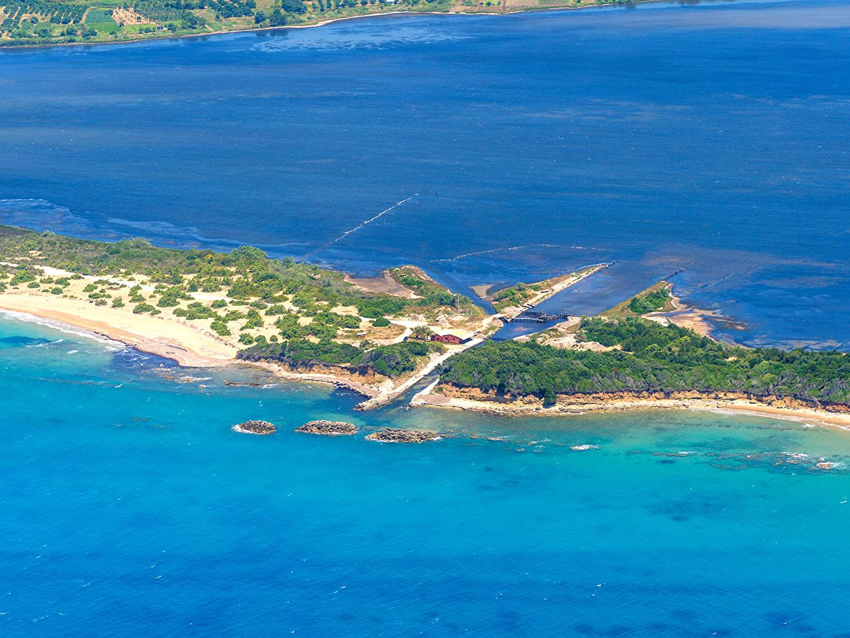 Photos Greece Corfu Sea Nature Island 1365x1024