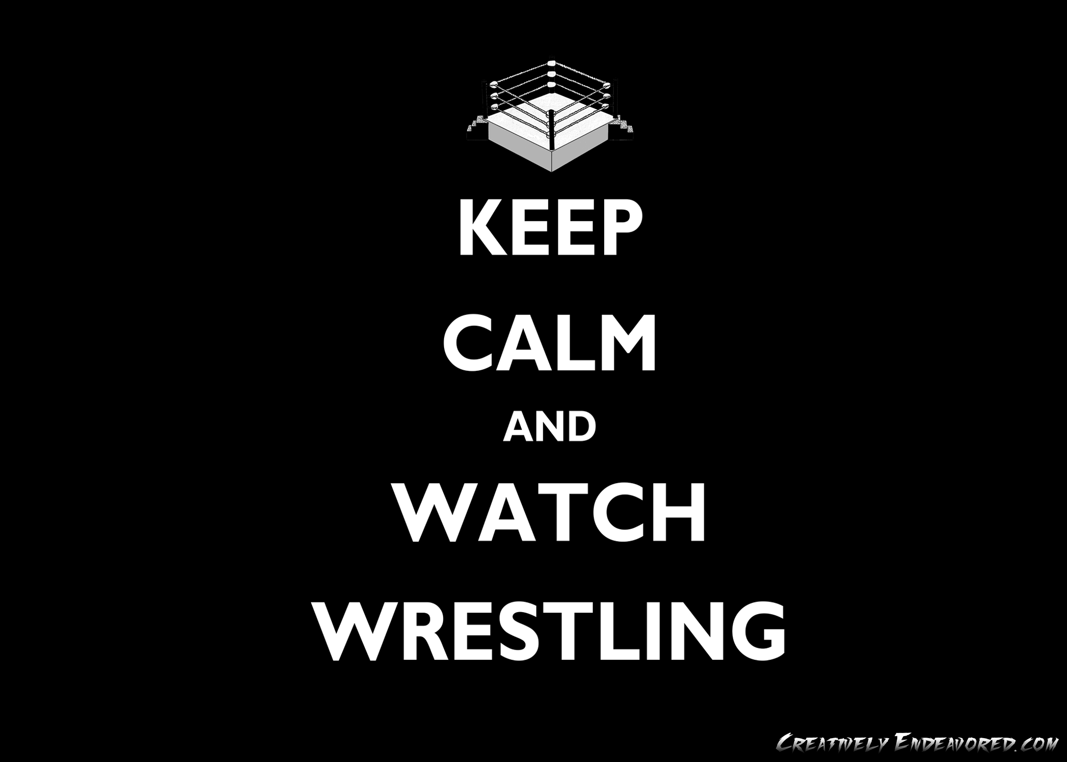 com201107keep calm and watch wrestling wallpaperpngw195h150 2100x1500
