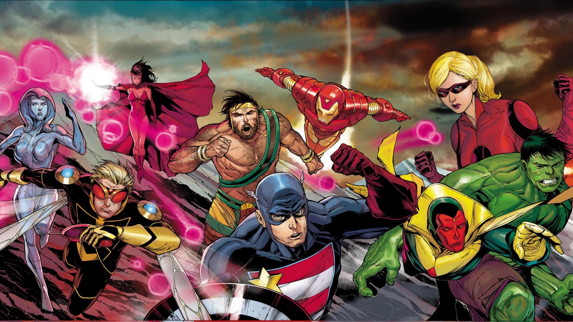 comics hercules hulk comic character iron man marvel comics wallpaper 1920x1080