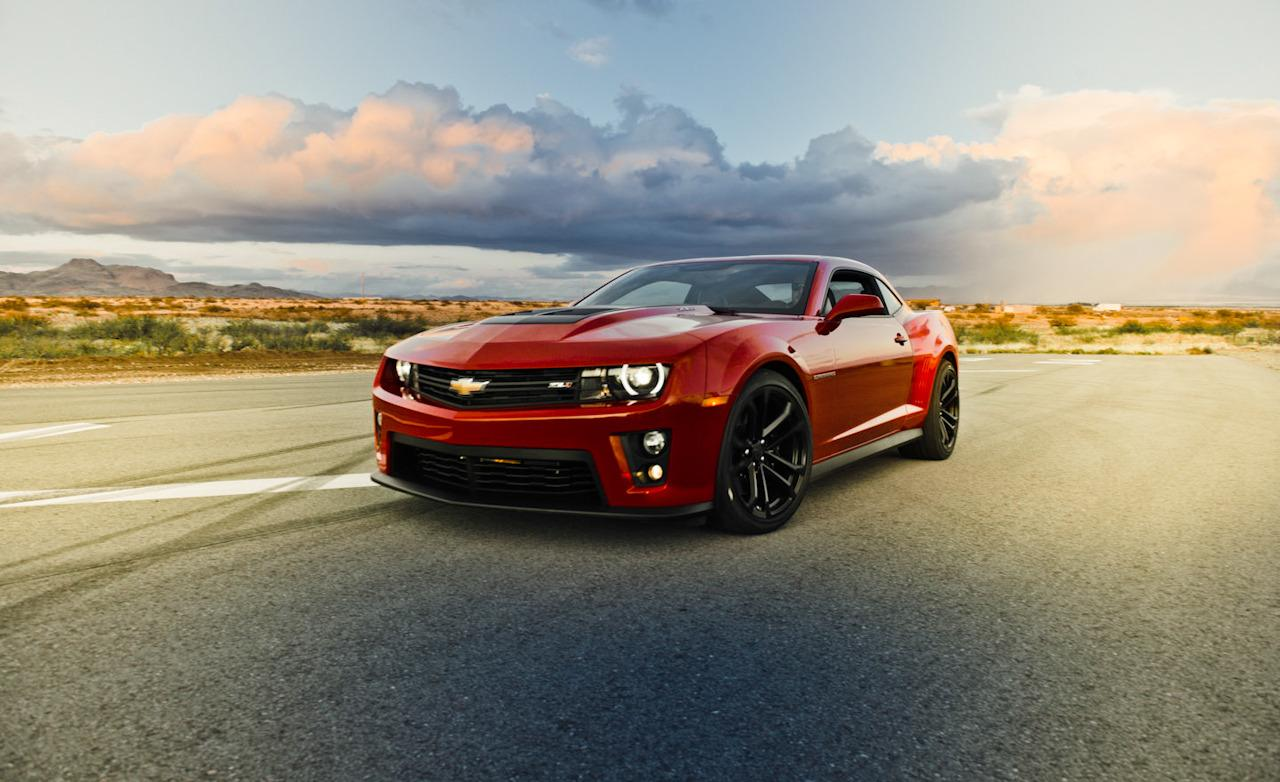 Chevrolet Camaro ZL1 Wallpapers 1280x782