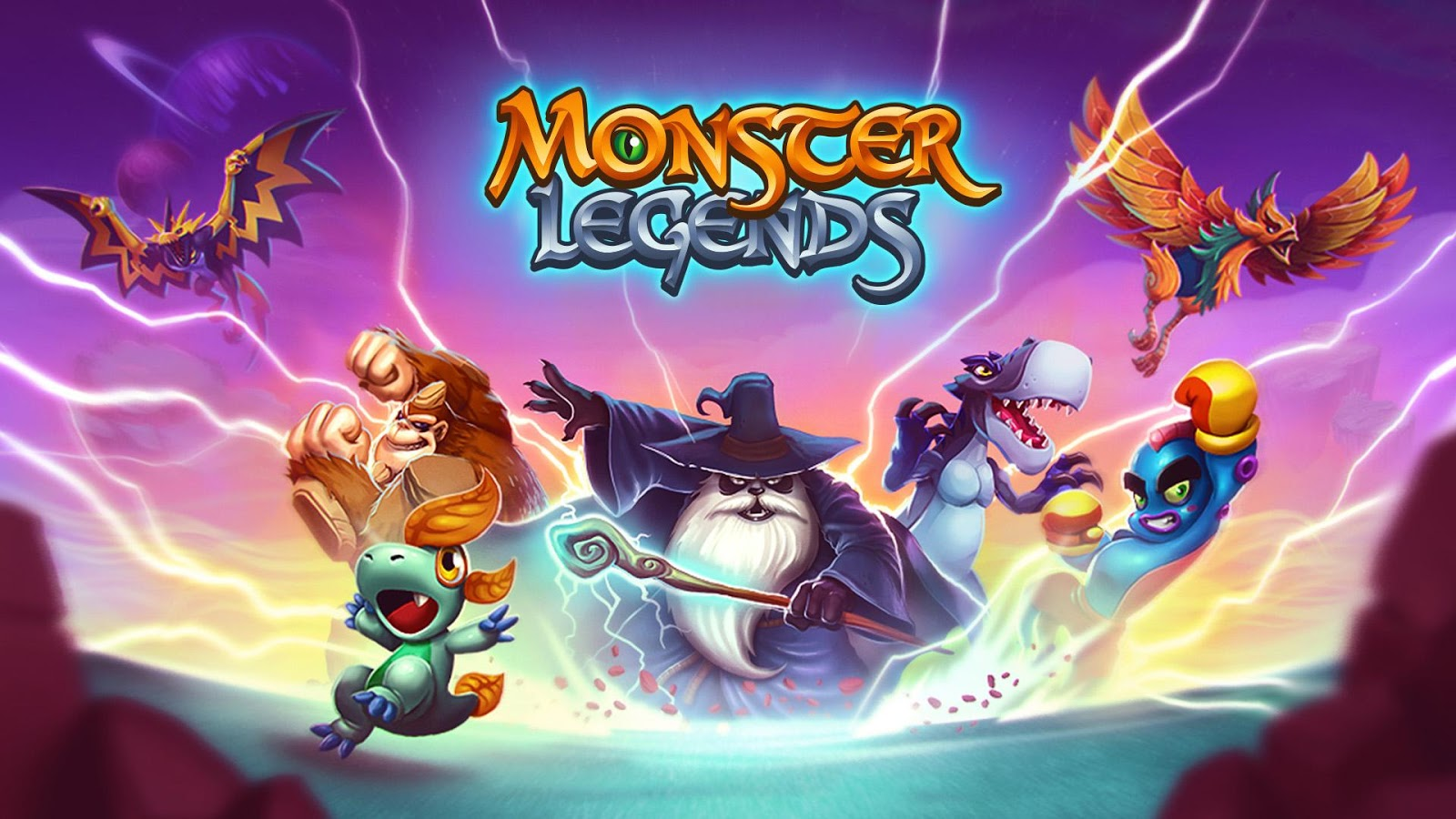 Monster Legends Wallpapers Wallpapersafari