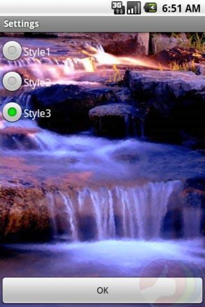 4D Waterfall Live Wallpaper Best Android Live Wallpapers 400x600