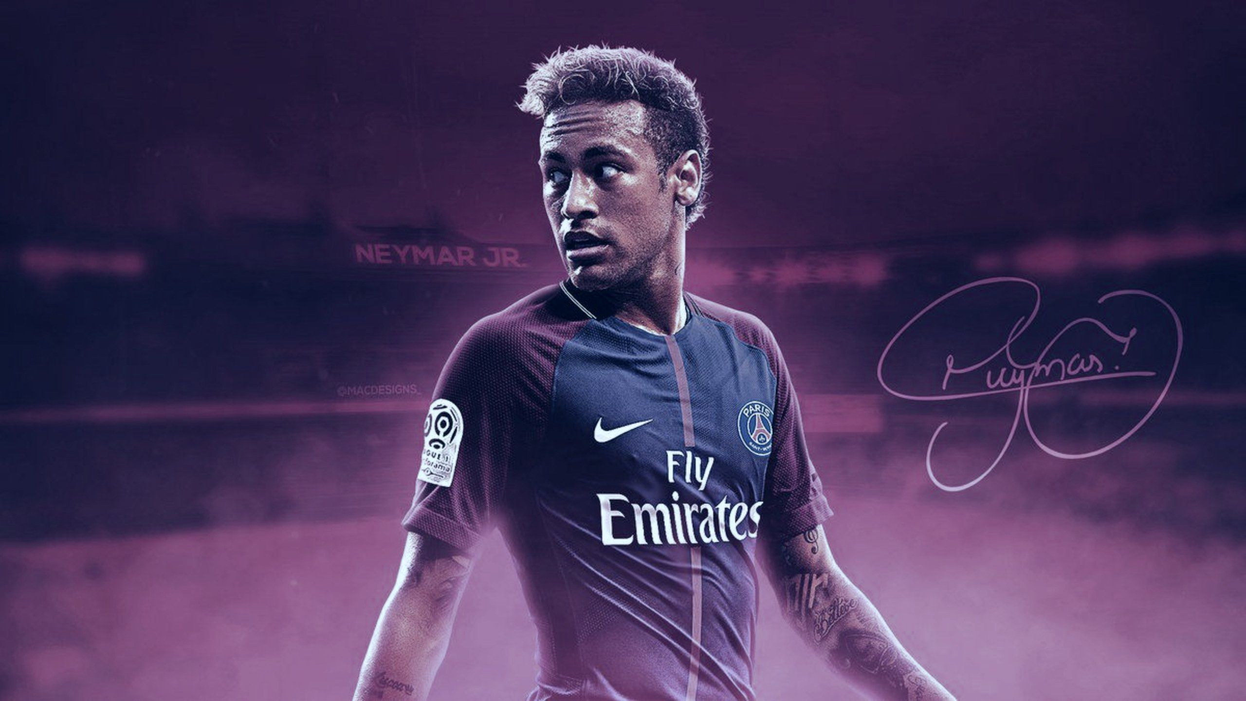 THE BEST 24 NEYMAR HD WALLPAPER PHOTOS IN 2020 Neymar psg 2560x1440