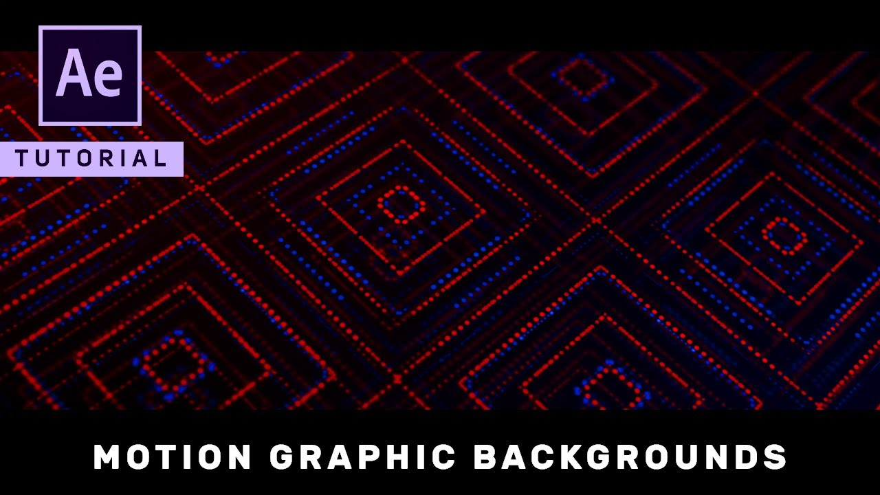 Advanced Motion Graphic Backgrounds in After Effects   Complete 1280x720