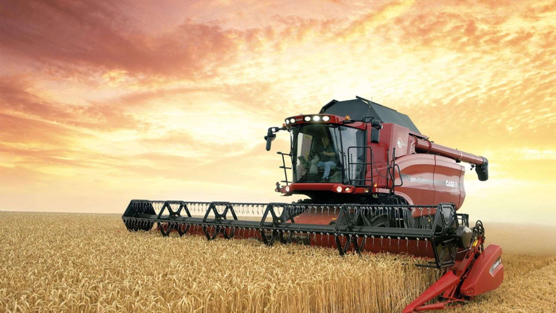 Farming Desktop Wallpapers Farm Equipment Combine harvester 1920x1080