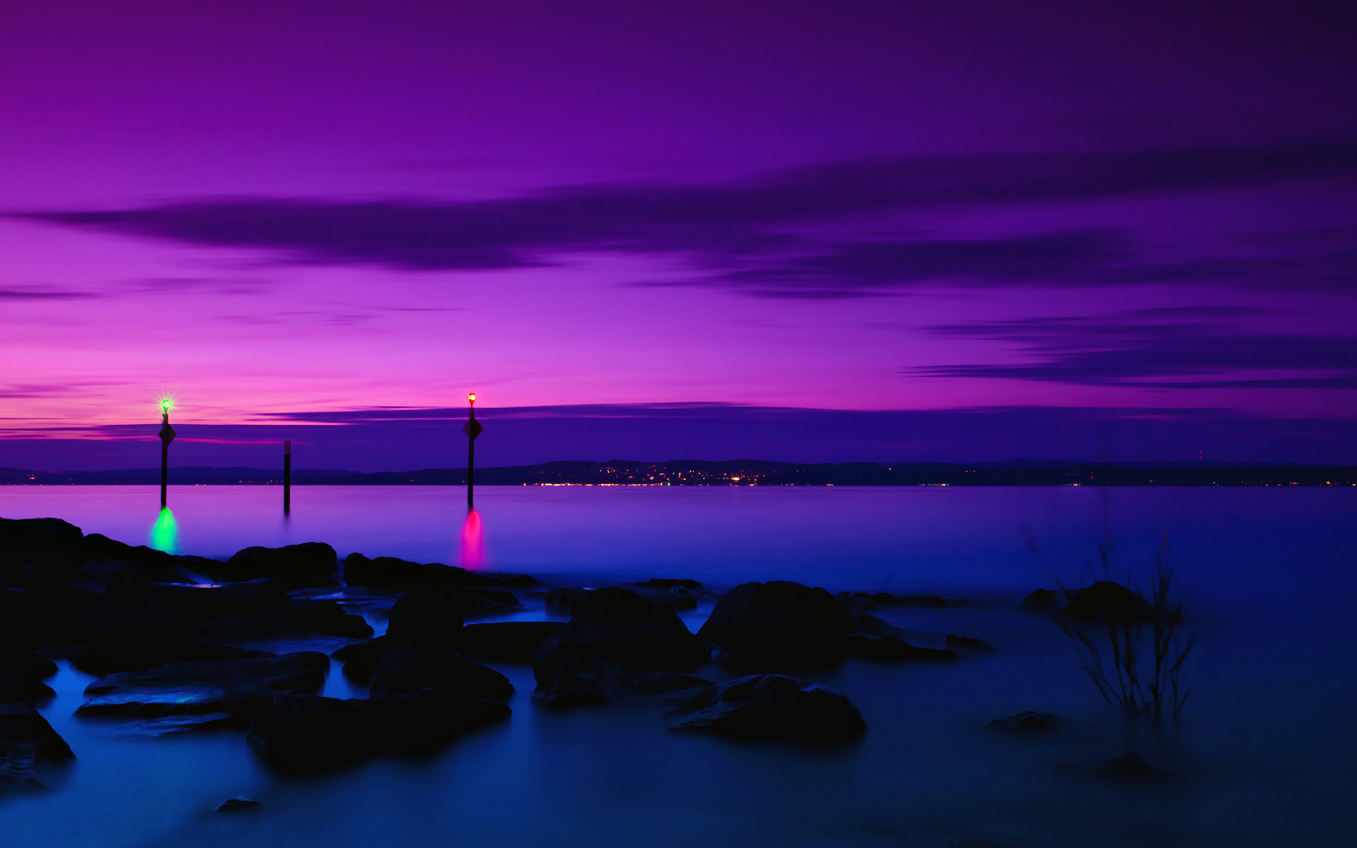 Purple Sunset Wallpaper 23196 1920x1200 px HDWallSourcecom 1920x1200