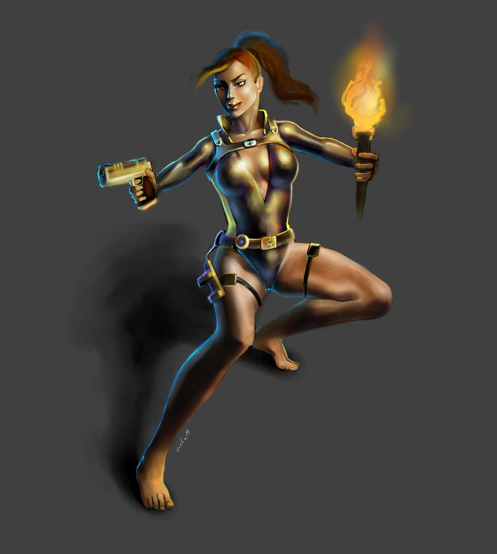 Tomb Raider Underworld Wallpaper: Lara Croft Underworld Wallpaper