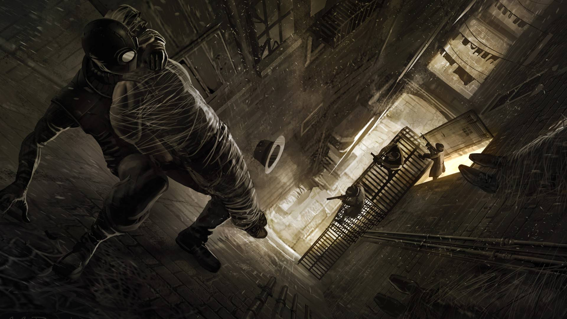 Spider Man Noir Wallpaper - WallpaperSafari