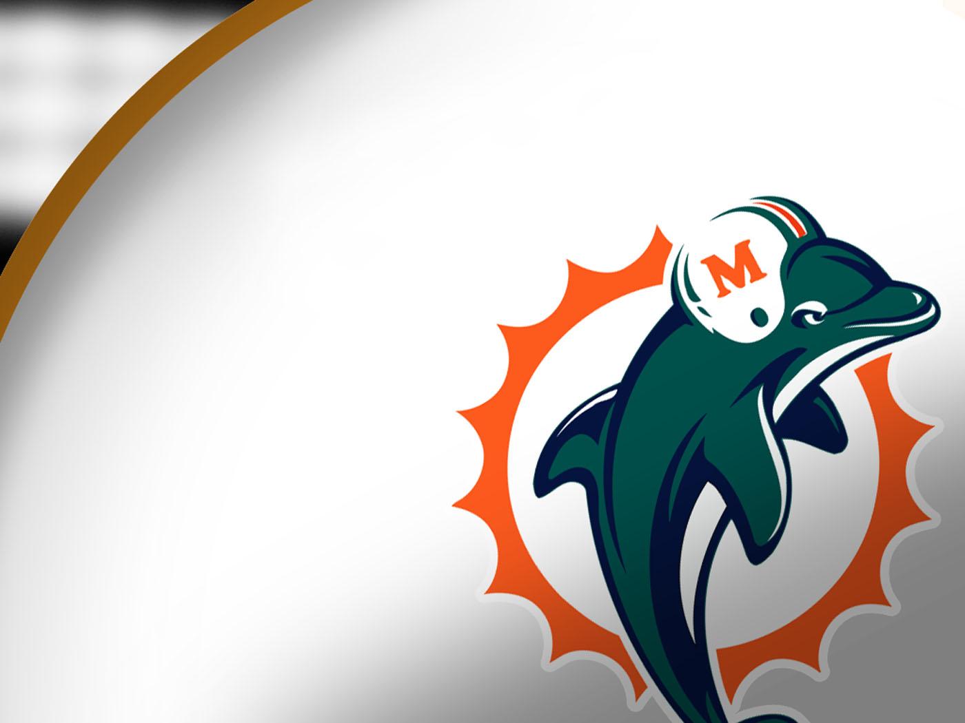 Miami Dolphins Helmet GatorPaper   Sports Desktop Wallpaper 1400x1050