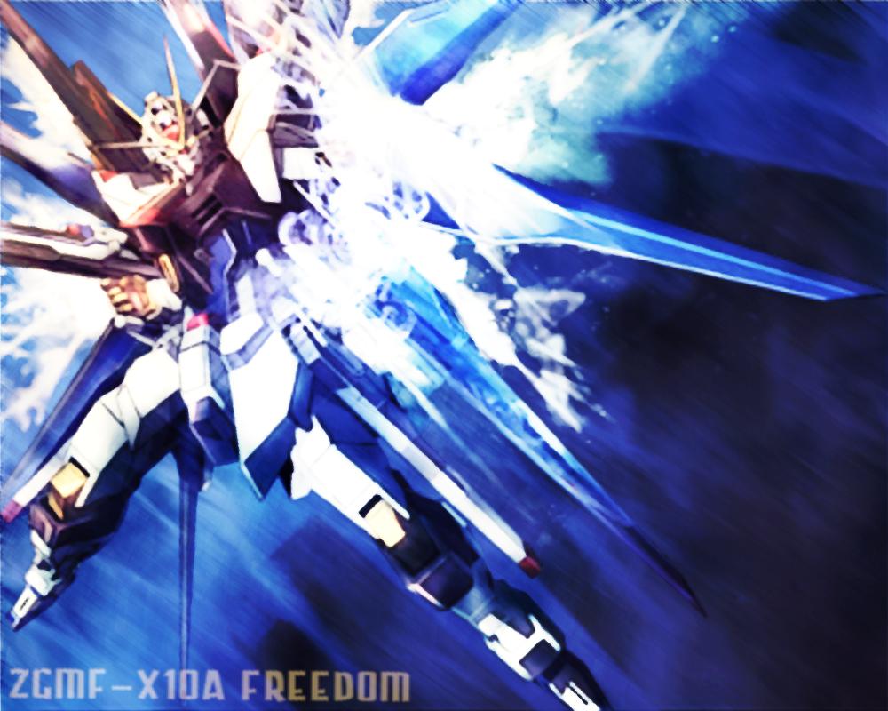 ZGMF X10A Freedom Gundam Wallpaper by DARKLORDMOKEYMOKEY 1000x800