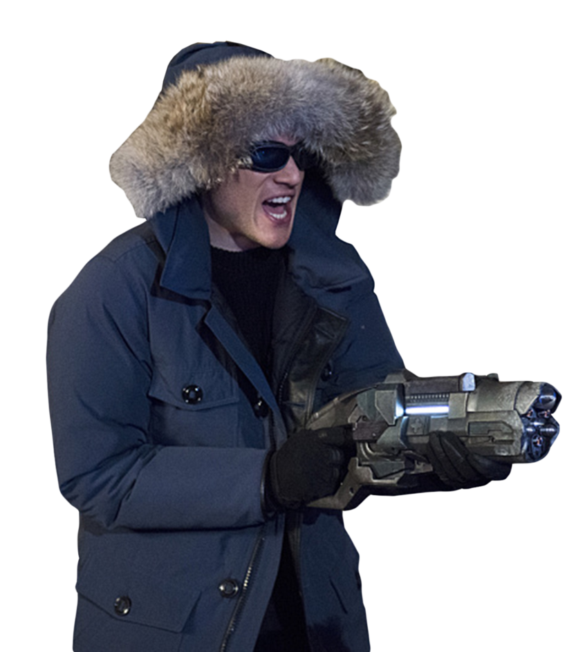 Captain Cold   Transparent by TheArrowverse 846x944