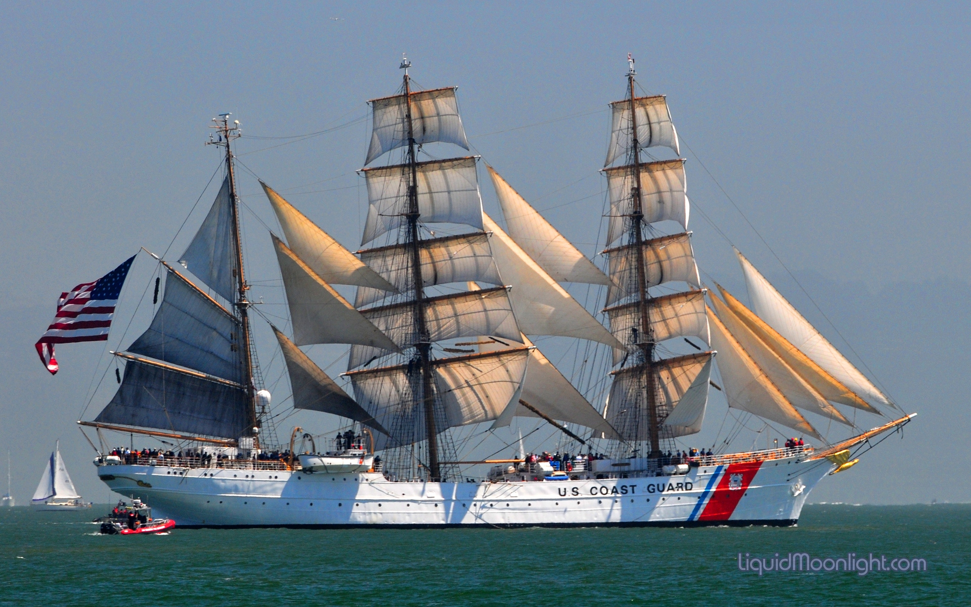 Free Download Fluidr United States Coast Guard Cutter Barque Eagle