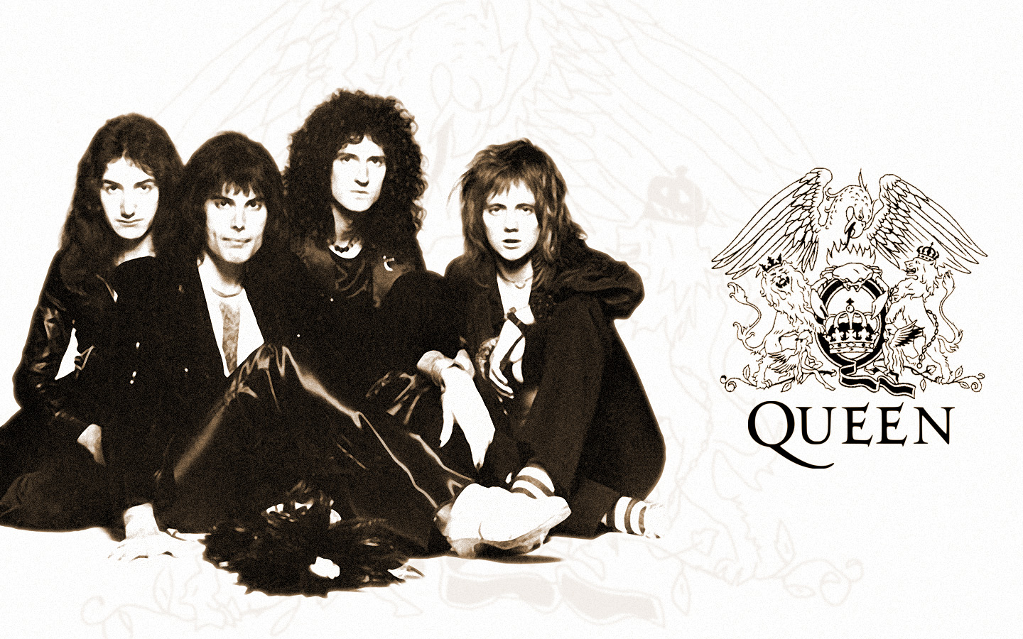 Rock Band Wallpapers The Greatest Band quotQueenquot Wallpaper 1440x900