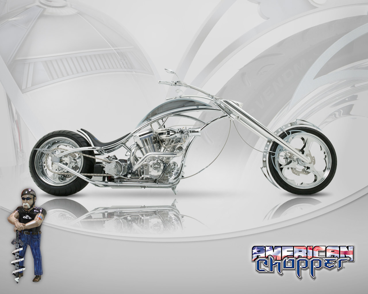 American chopper   Orange County Choppers Wallpaper 124421 1280x1024