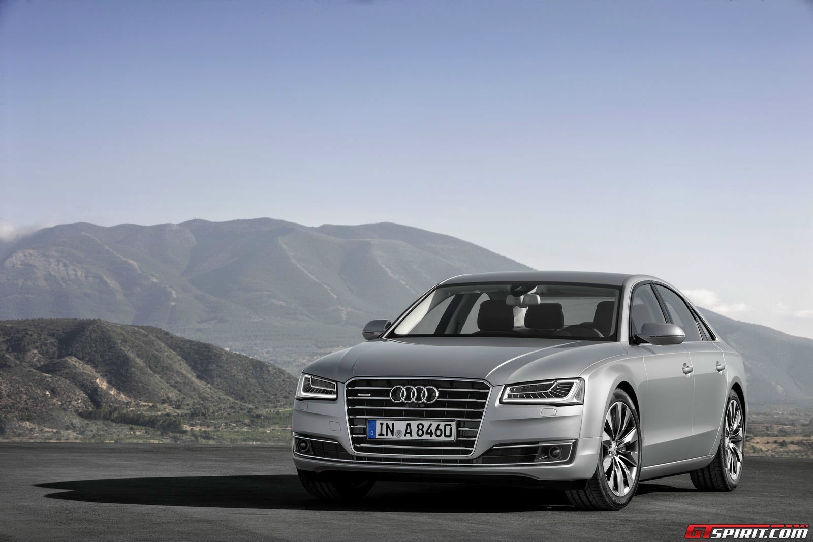 Audi A8 TFSI E HD Wallpapers Background Images Photos 1600x1067