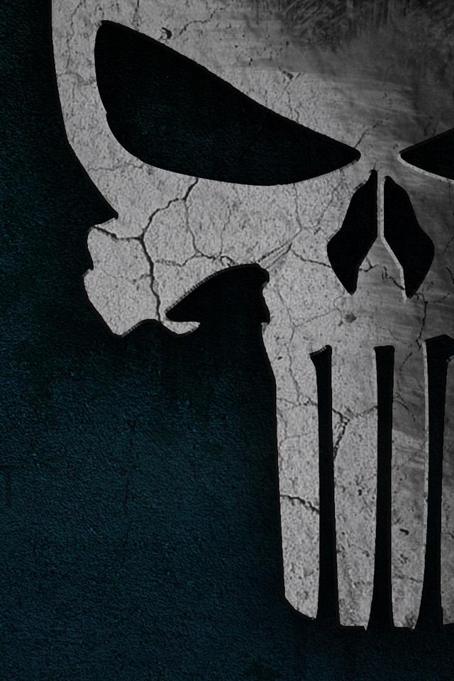 Punisher Skull | iPhone Wallpaper