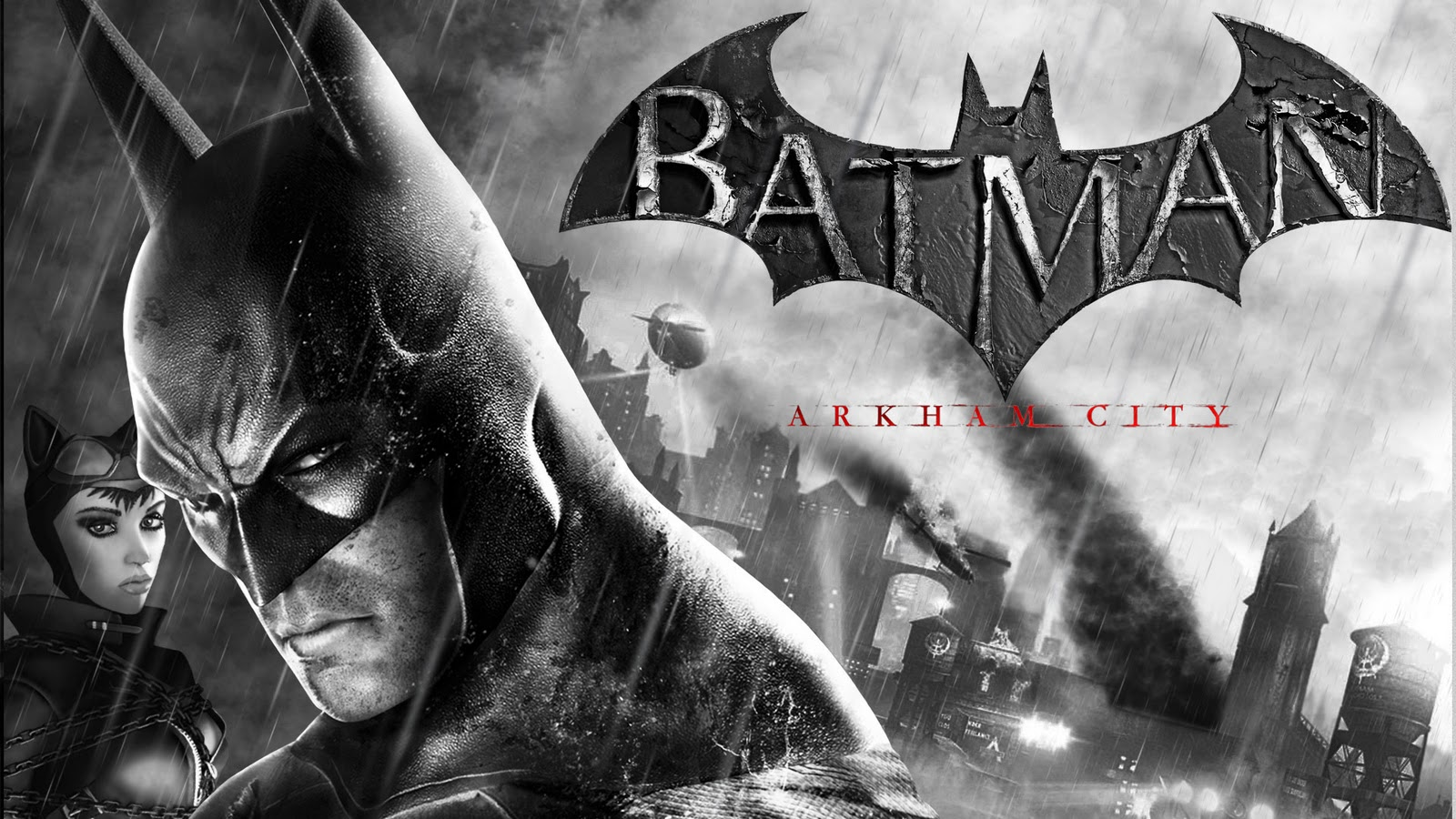 HEROOLOGYcom batman arkham city wallpaper hd 1080p 1600x900