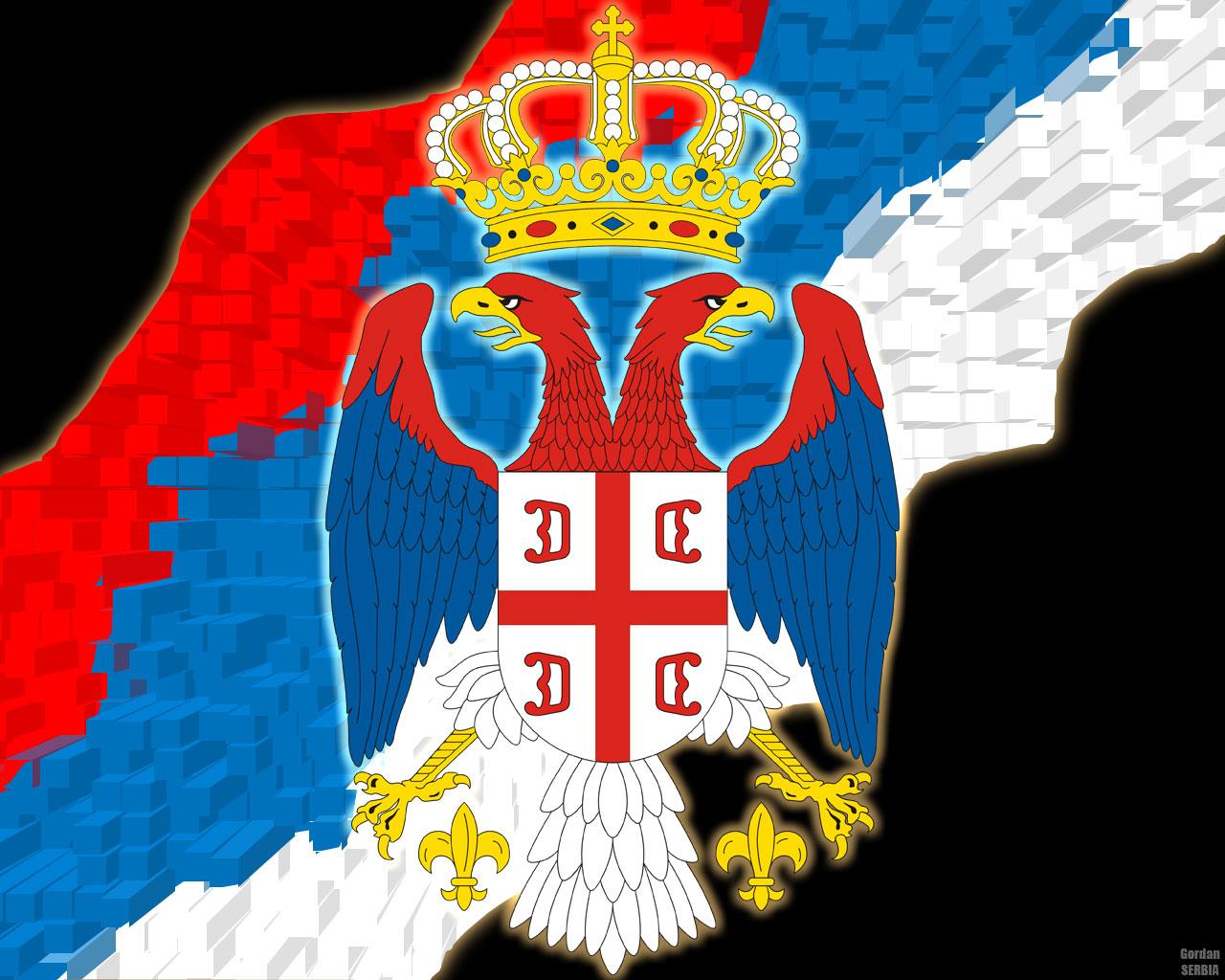 Background wallpaper Serbia 1280x1024