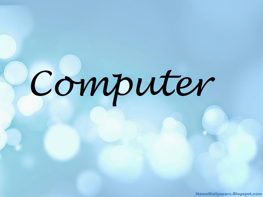 Desktop wallpaper computer name