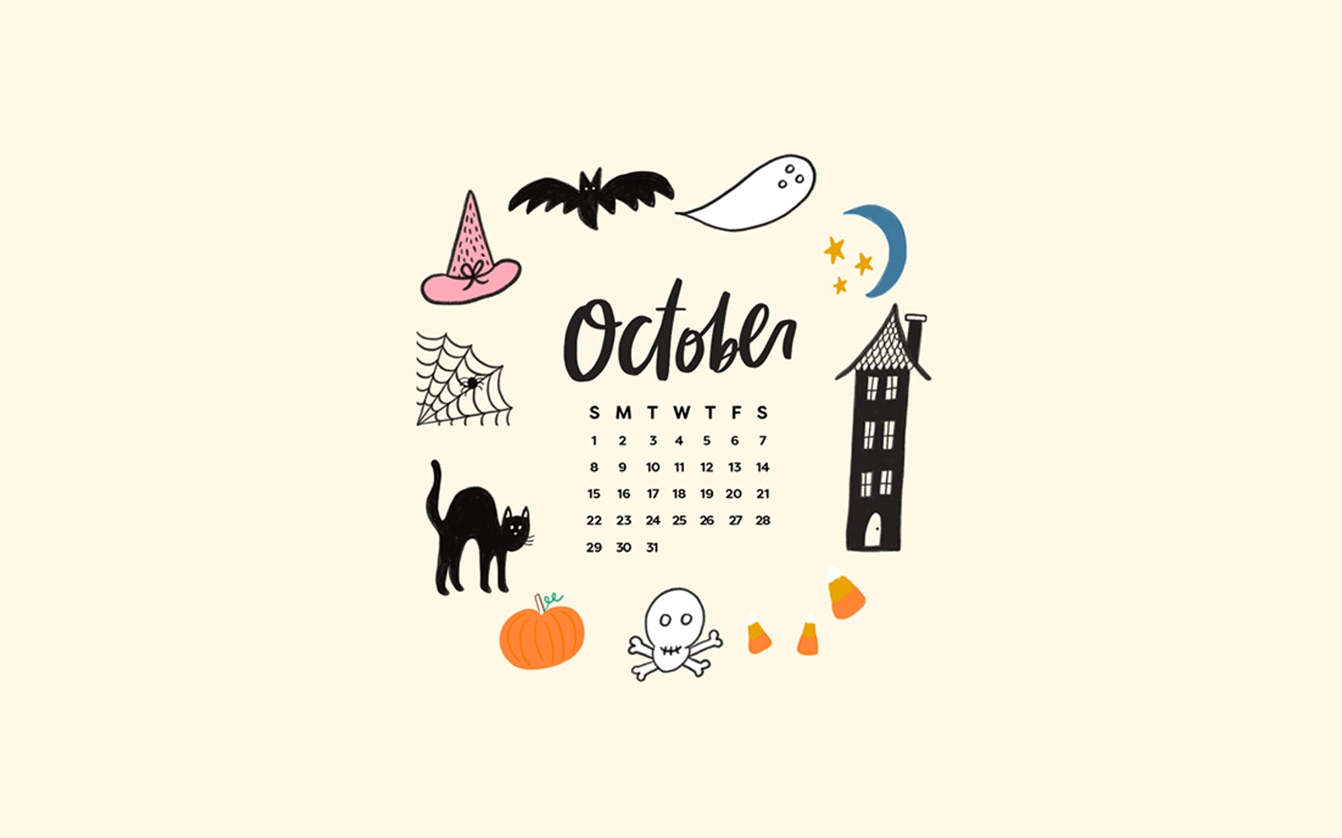 Tech Wallpapers Backgrounds for PSL Halloween October 2017 1920x1200