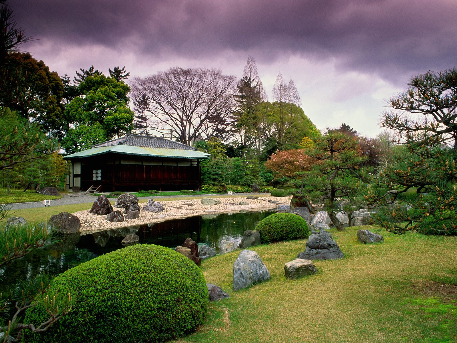 Japanese garden wallpapers new 1600x1200
