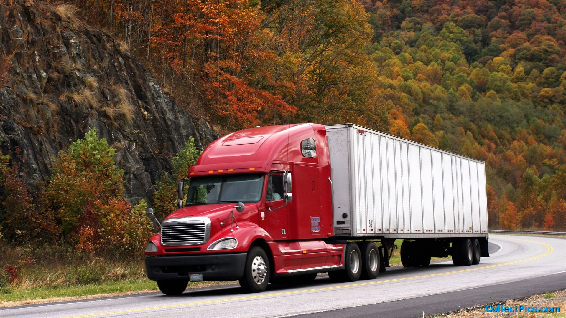 Semi Truck Wallpaper HD 1920x1080 4798 1920x1080