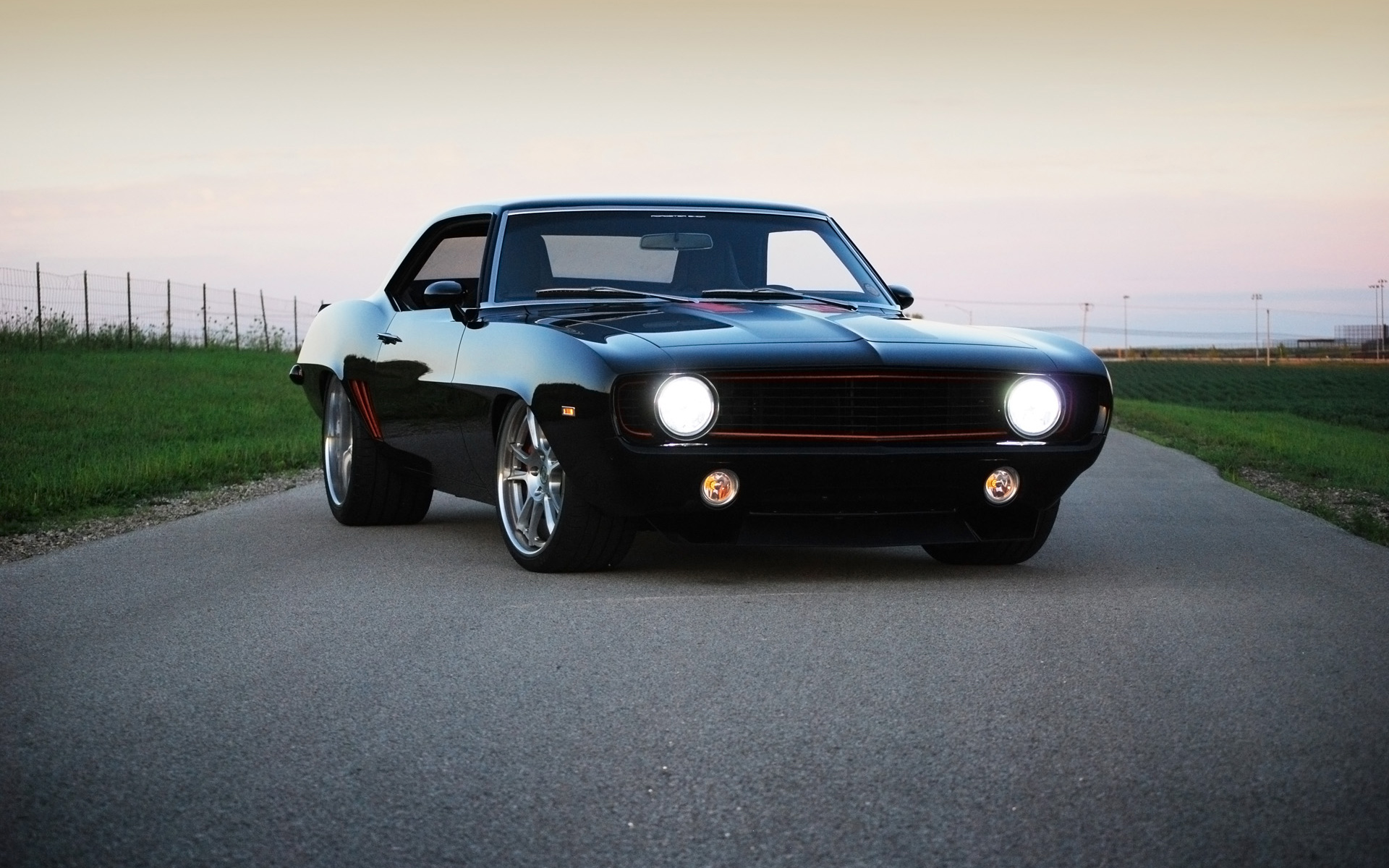 1969 Chevrolet Camaro SS Wallpaper Wide Wallpaper Collections 1920x1200