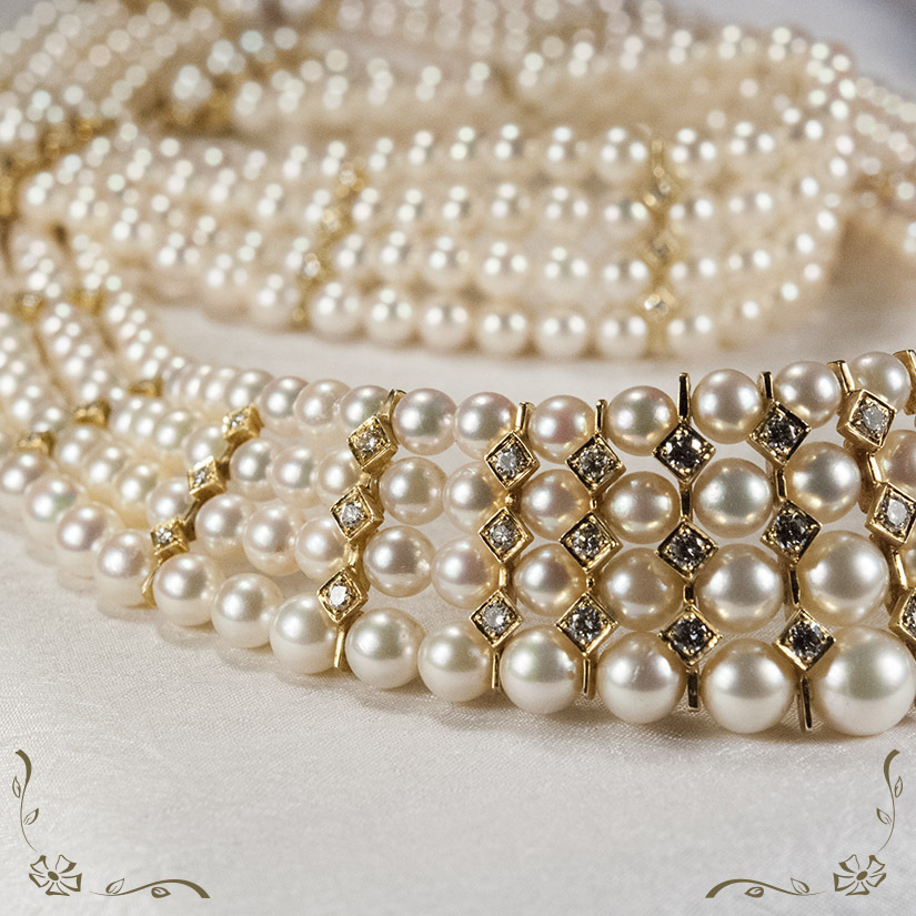 Diamonds And Pearls Background Diamond cultured pearl 825x825