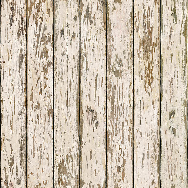 Weathered Brown Wood Wallpaper Swatch   Farmhouse   Wallpaper   by 600x600