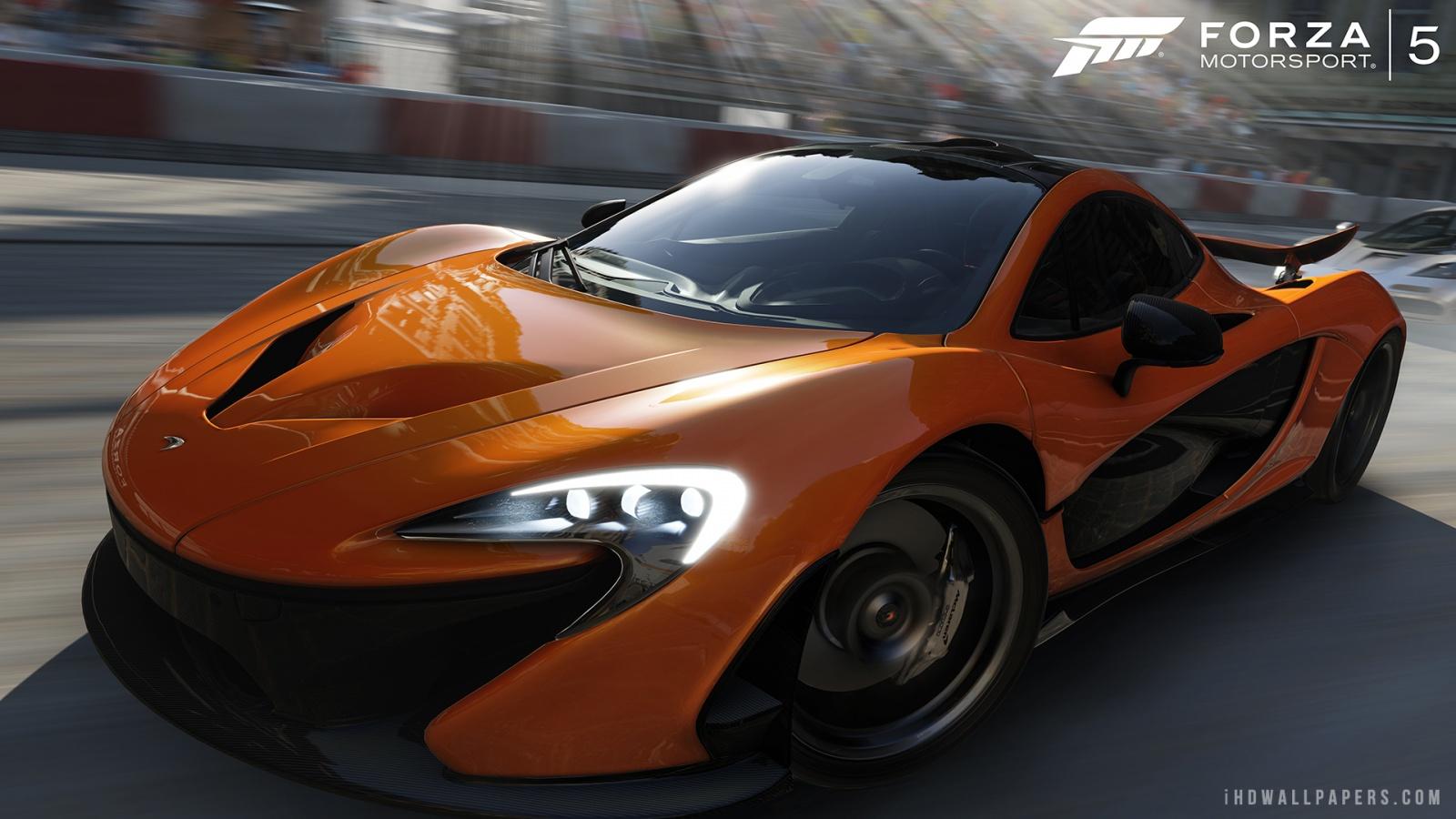 McLaren P1 in Forza 5 Wallpaper 1600x900