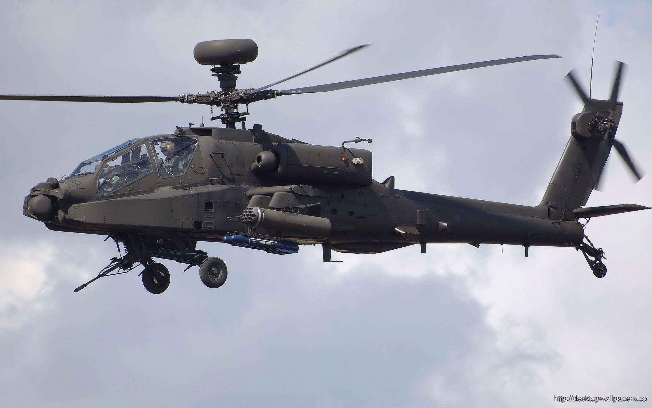 Apache Longbow Helicopter WallpaperDesktop Wallpapers Download 2560x1600