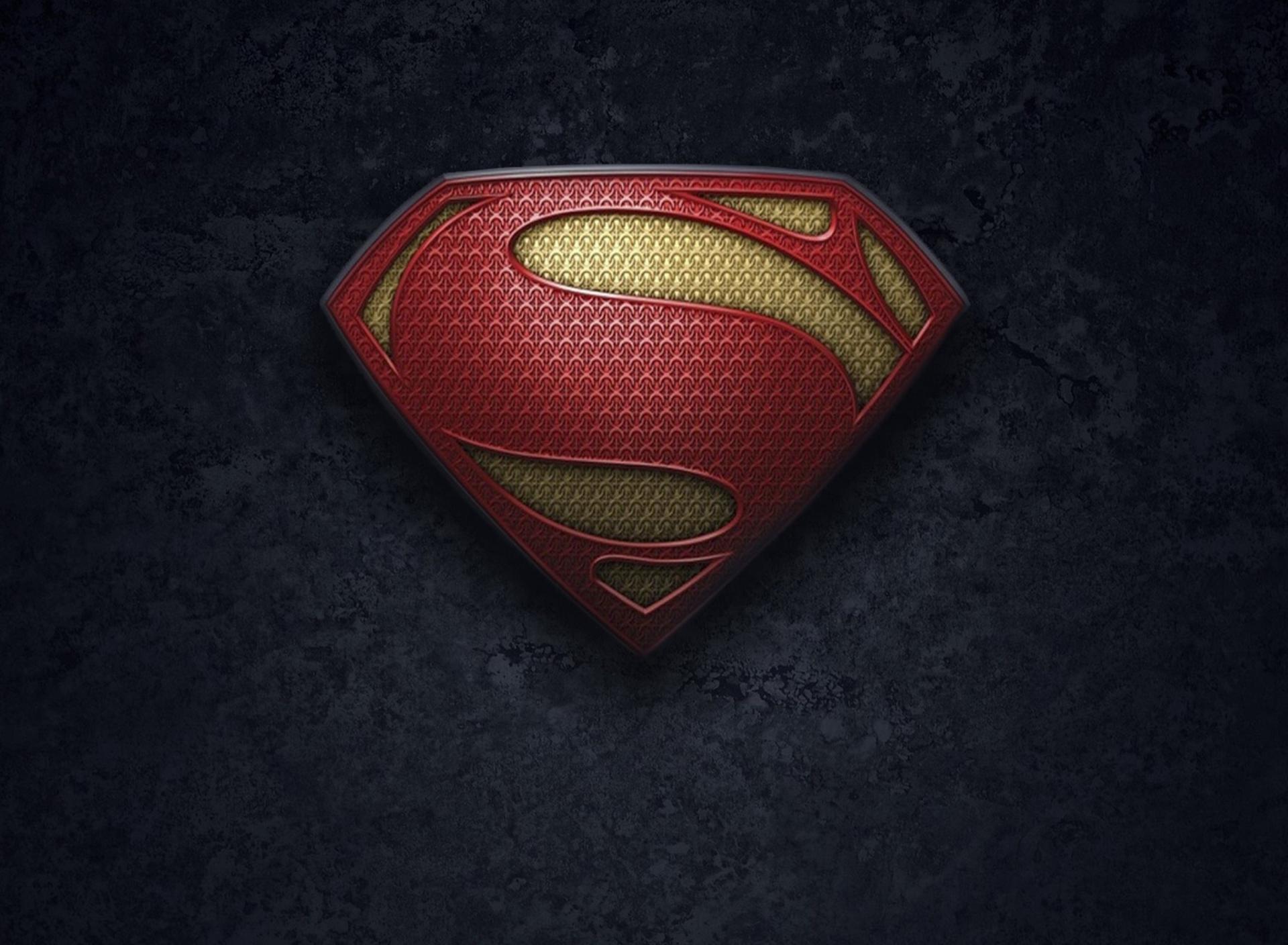 Black Superman Logo Wallpaper Superman Logo Wallpaper 1920x1408