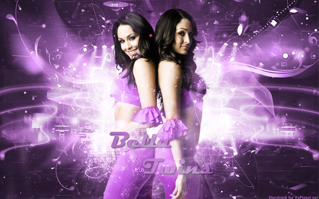 WWE WALLPAPERS The Bella twins Bellas Brie Bella Nikki Bella 1280x800