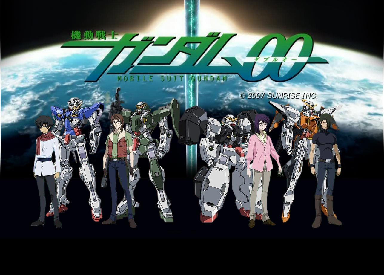 Gundam00 Wallpaper by muslimzdev 1286x920