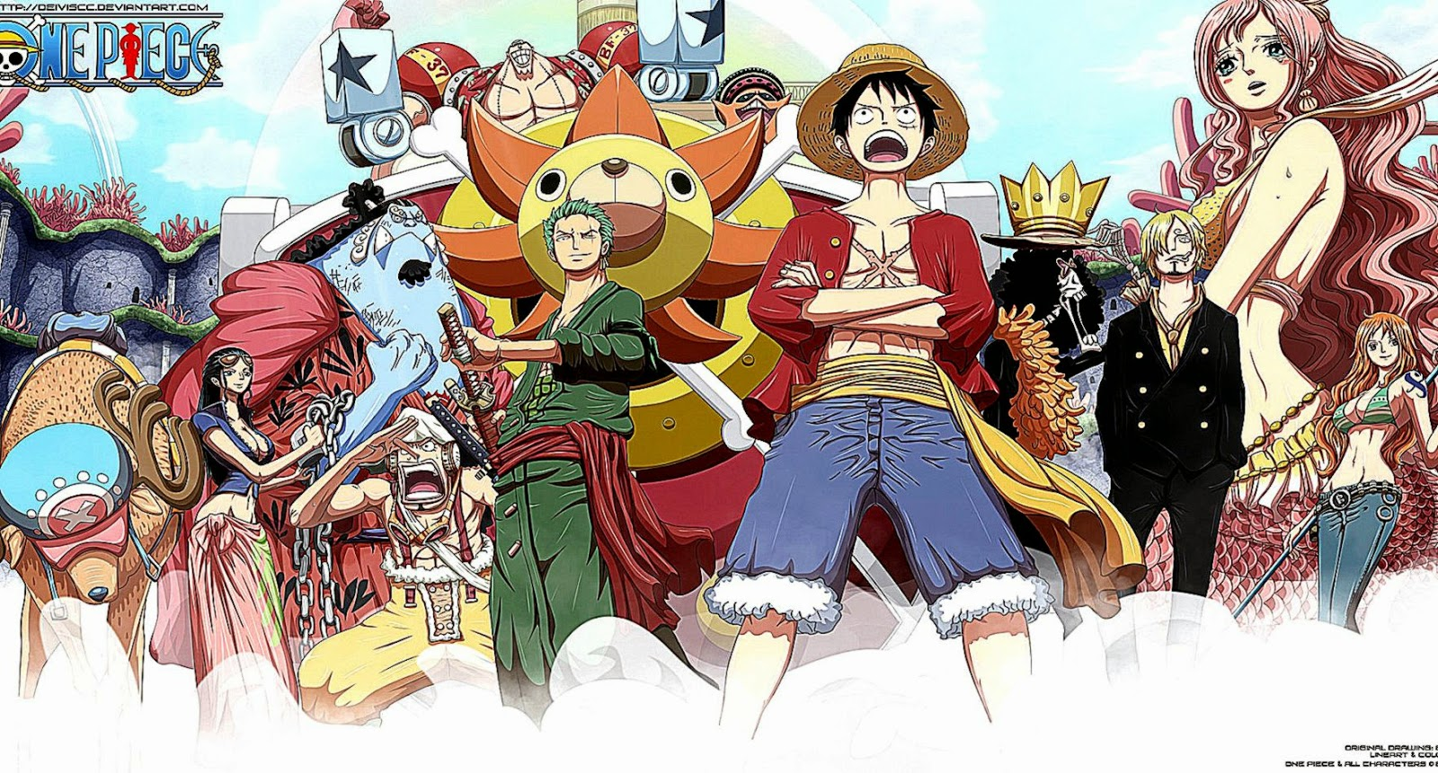 One Piece 1080P Anime Wallpapers 1600x861